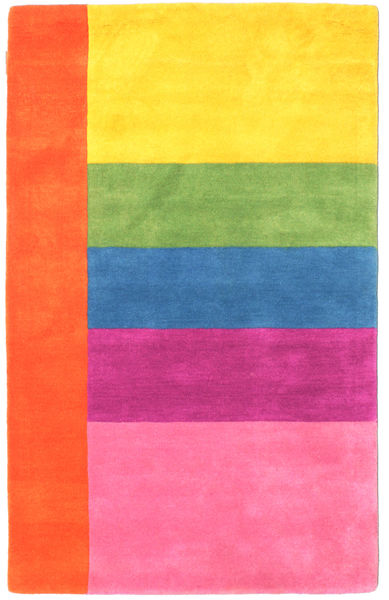 Colors By Meja Handtufted Covor 100X160 Modern Roz/Ruginiu (Lână, India)