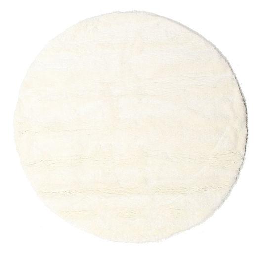 Shaggy Sadeh - White Covor Ø 200 Modern Rotund Bej/Bej-Crem ( Turcia)