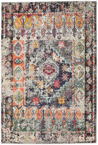 Cassiopeia - Vintage Covor 160X230 Modern Gri Deschis/Negru ( Turcia)