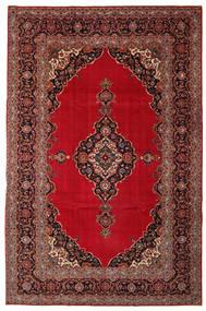 Kashan Patina Covor 240X374 Orientale Lucrat Manual Roșu-Închis/Maro Închis (Lână, Persia/Iran)