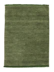 Handloom Fringes - Verde Covor 140X200 Modern Verde Oliv/Verde Închis (Lână, India)