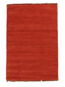 Handloom Fringes - Ruginiu/Roşu Covor 140X200 Modern Ruginiu (Lână, India)