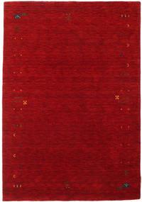 Gabbeh Loom Frame - Roşu Covor 140X200 Modern Roșu-Închis/Roşu (Lână, India)