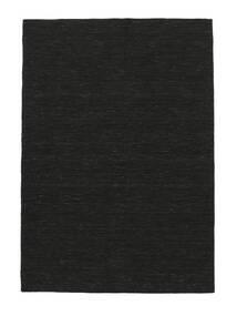 Chilim Loom - Negru Covor 140X200 Modern Lucrate De Mână Gri Închis (Lână, India)