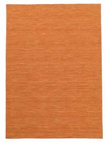 Chilim Loom - Portocaliu Covor 160X230 Modern Lucrate De Mână Portocaliu (Lână, India)