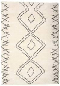 Berber Shaggy Massin Covor 160X230 Modern Bej/Gri Deschis ( Turcia)