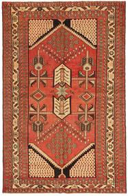 Saveh Patina Covor 135X208 Orientale Lucrat Manual Roşu/Maro (Lână, Persia/Iran)