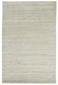 Handloom Fringes - Gri/Verde Deschis Covor 200X300 Modern Gri Deschis/Maro Deschis (Lână, India)