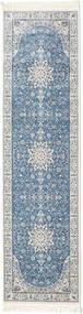 Nain Emilia - Albastru Deschis Covor 80X300 Orientale Gri Deschis/Albastru ( Turcia)