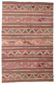 Chilim Semi-Antic Turcia Covor 175X270 Orientale Lucrate De Mână Maro Deschis/Maro (Lână, Turcia)