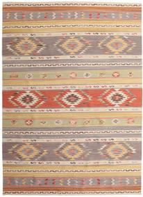 Chilim Nimrud Covor 240X340 Modern Lucrate De Mână Gri Deschis/Bej Închis (Lână, India)