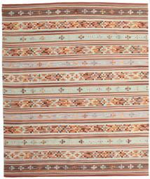 Chilim Anatolian Covor 240X290 Modern Lucrate De Mână Roșu-Închis/Bej (Lână, India)