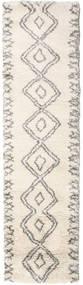 Berber Shaggy Massin Covor 80X300 Modern Bej/Gri Deschis ( Turcia)