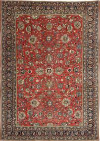 Sarouk Patina Covor 236X347 Orientale Lucrat Manual Roșu-Închis/Gri Închis (Lână, Persia/Iran)