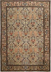 Tabriz Patina Covor 238X338 Orientale Lucrat Manual Maro/Gri Închis (Lână, Persia/Iran)