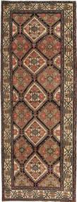 Hamadan Patina Covor 105X285 Orientale Lucrat Manual Maro/Gri Închis (Lână, Persia/Iran)
