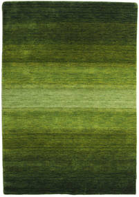 Gabbeh Rainbow - Verde Covor 140X200 Modern Verde Închis/Verde Oliv (Lână, India)