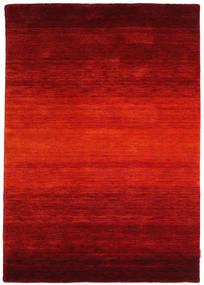 Gabbeh Rainbow - Roşu Covor 140X200 Modern Ruginiu/Roșu-Închis (Lână, India)