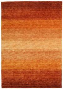 Gabbeh Rainbow - Ruginiu Covor 140X200 Modern Portocaliu/Ruginiu/Maro Deschis (Lână, India)