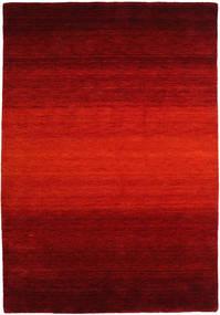 Gabbeh Rainbow - Roşu Covor 160X230 Modern Ruginiu/Roșu-Închis/Maro Închis (Lână, India)