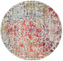 Kaleidoscope - Multi Covor Ø 200 Modern Rotund Gri Deschis/Maro Închis ( Turcia)