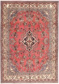 Hamadan Patina Covor 203X298 Orientale Lucrat Manual Roz Deschis/Roșu-Închis (Lână, Persia/Iran)
