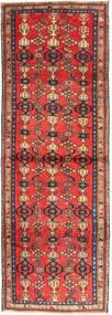 Zanjan Covor 102X300 Orientale Lucrat Manual Roșu-Închis/Maro Închis (Lână, Persia/Iran)