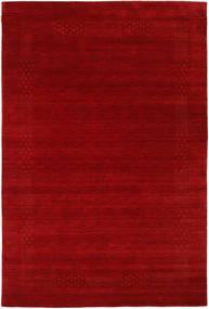 Loribaf Loom Beta - Roşu Covor 190X290 Modern Roșu-Închis/Ruginiu (Lână, India)