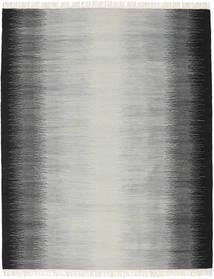 Ikat - Negru/Gri Covor 190X240 Modern Lucrate De Mână Gri Deschis/Albastru Turcoaz/Gri Închis (Lână, India)