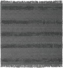 Chilim Berber Ibiza - Soft Grey Covor 200X200 Modern Lucrate De Mână Pătrat Negru/Albastru/Gri Închis (Lână, India)