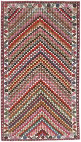 Hamadan Patina Covor 107X200 Orientale Lucrat Manual Gri Închis/Roșu-Închis (Lână, Persia/Iran)