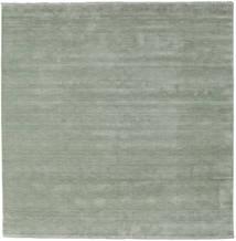 Handloom Fringes - Soft Teal Covor 250X250 Modern Pătrat Lumina Verde Mare (Lână, India)