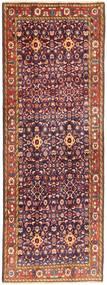 Hamadan Covor 107X300 Orientale Lucrat Manual Roșu-Închis/Mov Închis (Lână, Persia/Iran)