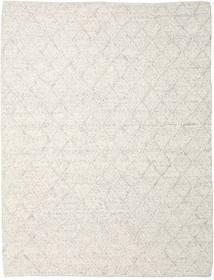 Rut - Ice_Grey Melange Covor 250X350 Modern Lucrate De Mână Gri Deschis/Bej Închis Mare (Lână, India)
