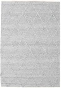 Svea - Silver Grey Covor 140X200 Modern Lucrate De Mână Gri Deschis/Bej-Crem (Lână, India)
