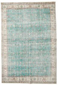Taspinar Covor 207X300 Orientale Lucrat Manual Gri Deschis/Albastru Turcoaz (Lână, Turcia)