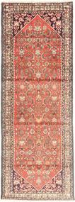 Hamadan Covor 107X300 Orientale Lucrat Manual Maro Deschis/Roz Deschis (Lână, Persia/Iran)