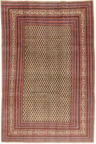 Arak Patina Covor 212X320 Orientale Lucrat Manual Roșu-Închis/Maro Deschis (Lână, Persia/Iran)