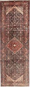 Hamadan Covor 105X320 Orientale Lucrat Manual Roșu-Închis/Maro Deschis (Lână, Persia/Iran)