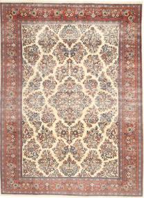 Sarouk Patina Covor 200X280 Orientale Lucrat Manual Bej/Maro Închis (Lână, Persia/Iran)