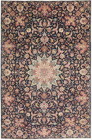 Najafabad Patina Covor 235X360 Orientale Lucrat Manual Gri Închis/Roșu-Închis (Lână, Persia/Iran)