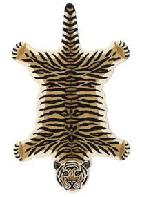 Tiger - Bej Covor 100X160 Modern Albastru Închis/Maro Deschis (Lână, India)