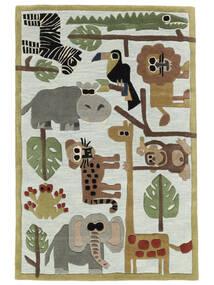 Zoo Handtufted Covor 170X240 Modern Gri Deschis/Albastru Deschis (Lână, India)