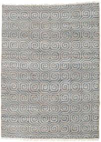 Covor Exterior Thar Jute Covor 170X240 Modern Lucrate De Mână Gri Deschis/Albastru (Covor De Iută India)