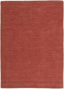 Chilim Loom - Ruginiu Covor 160X230 Modern Lucrate De Mână Roșu-Închis (Lână, India)