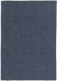 Chilim Loom - Denim Albastru Covor 160X230 Modern Lucrate De Mână Albastru (Lână, India)