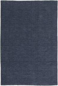 Chilim Loom - Denim Albastru Covor 200X300 Modern Lucrate De Mână Albastru Închis/Albastru (Lână, India)