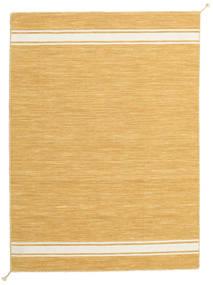 Ernst - Mustard Yellow/Alburiu Covor 140X200 Modern Lucrate De Mână Maro Deschis/Bej Închis (Lână, India)