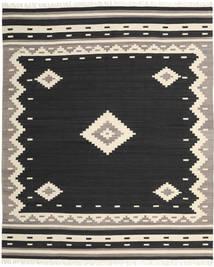 Tribal - Negru Covor 250X300 Modern Lucrate De Mână Negru/Bej Mare (Lână, India)