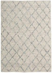 Rut - Argintiu/Gri Melange Covor 160X230 Modern Lucrate De Mână Gri Deschis/Bej Închis (Lână, India)